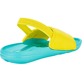 speedo Atami Sea Squad Slides Barn bali blue/empire yellow